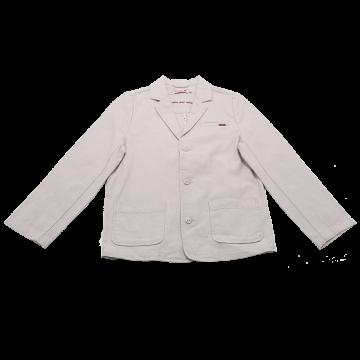 Jachetă bej  din bumbac Boboli 8 ani (128cm) și 10 ani (140cm)