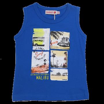 Maiou albastru cu imprimeu surf Boboli 9-12 luni (80cm), 12-18 luni (86cm)