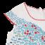Set rochiță cu imprimeu pești și chiloțel roșu