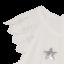 Rochiță de ocazie cu steluțe
