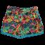 Pantaloni scurți colorați din vâscoză