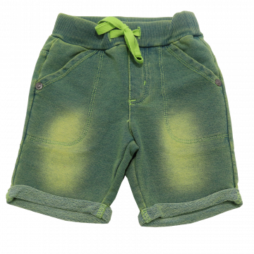 Pantaloni scurți verzi decolorați Boboli 6-9 luni (74cm)