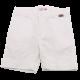 Pantaloni scurți albi din in și bumbac