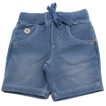 Pantaloni scurți albaștri decolorați Boboli 3-6 luni (68cm)
