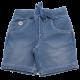 Pantaloni scurți albaștri decolorați