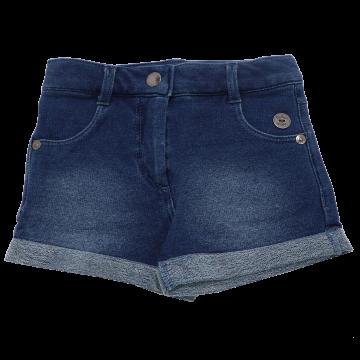 Pantaloni scurți albastru închis decolorat12-18 luni (86cm)