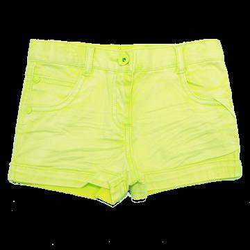 Pantaloni scurți verzi din denim elastic Boboli 4 ani (104cm)
