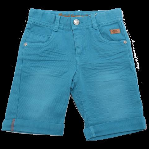Pantaloni scurți turcoaz din denim Boboli 3 ani (98cm) și 4 ani (104cm)