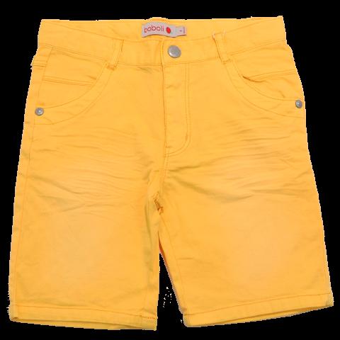 Pantaloni scurți galbeni Boboli 3 ani (98cm) și 4 ani (104cm)