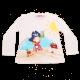 Bluză albă cu fetiță pirat la plajă