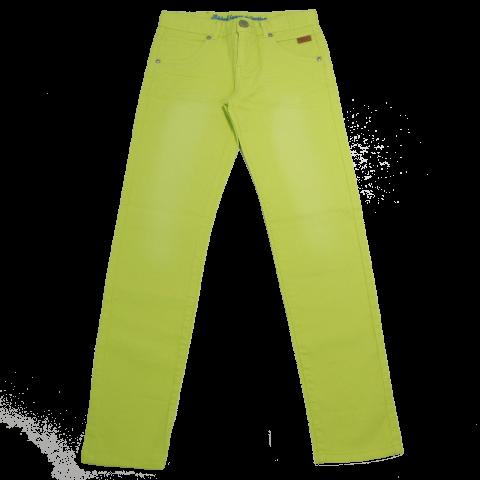Jeans elastici în culori vibrante