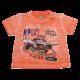 Tricou portocaliu decolorat Cape Verde