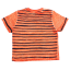 Tricou portocaliu decolorat Surf