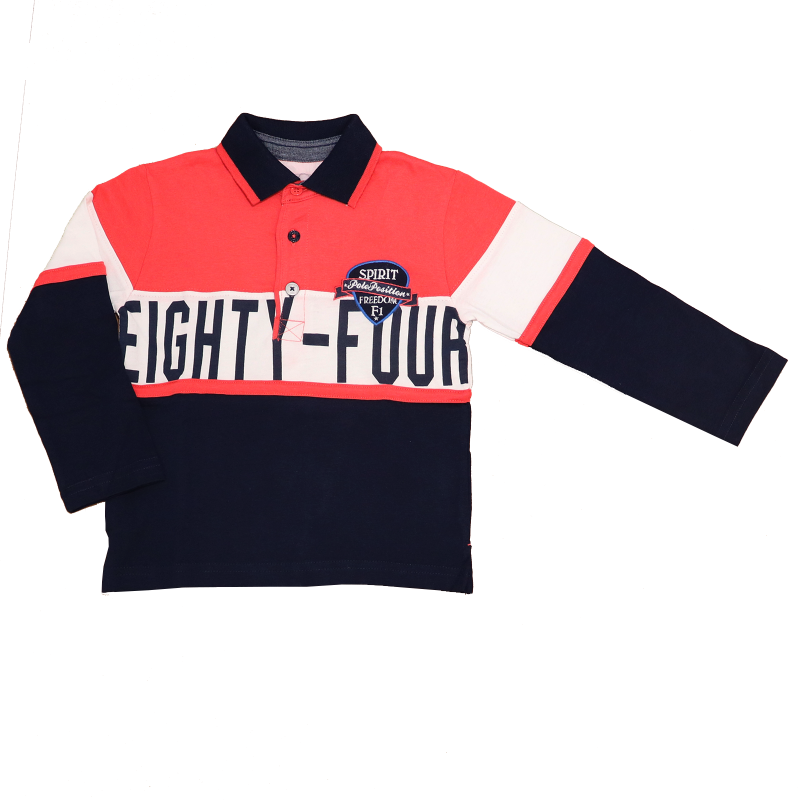 Bluză cu mânecă lungă și imprimeu eighty-four
