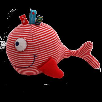 Jucărie moale balenă