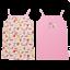 Set maiouri roz cu fructe/ fluturași