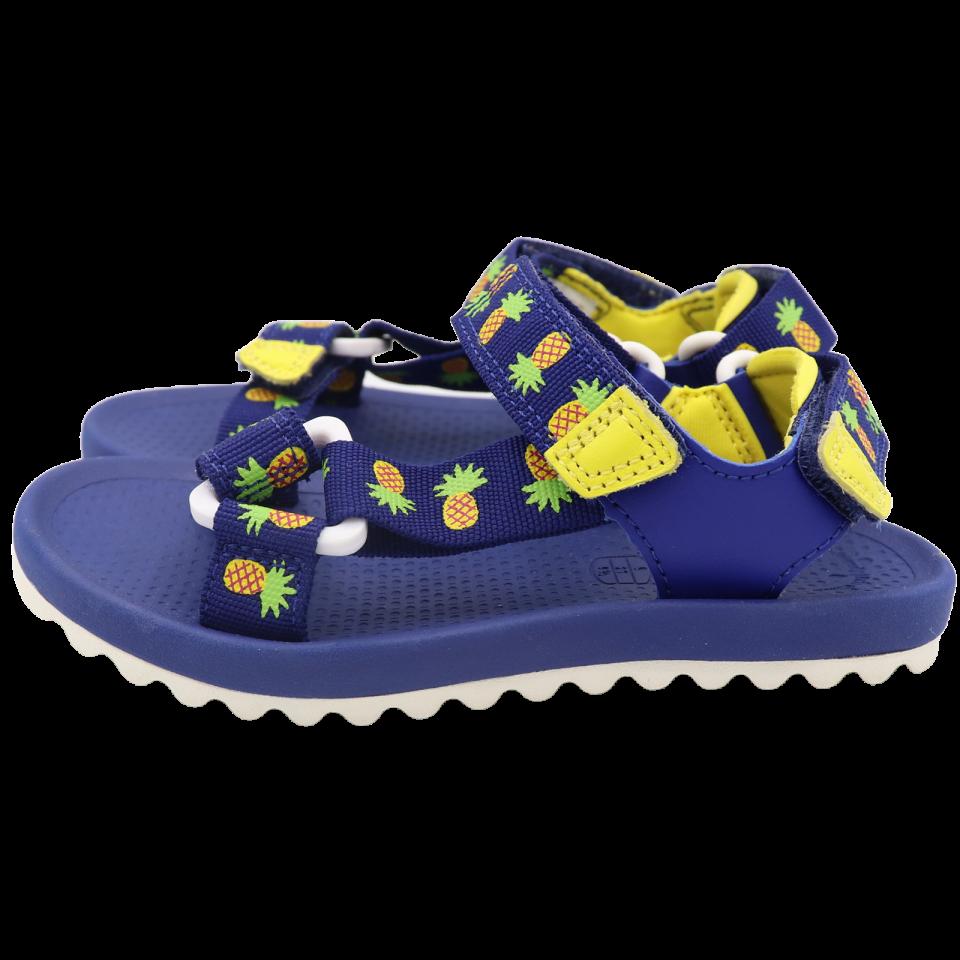 Sandale cu imprimeu ananas