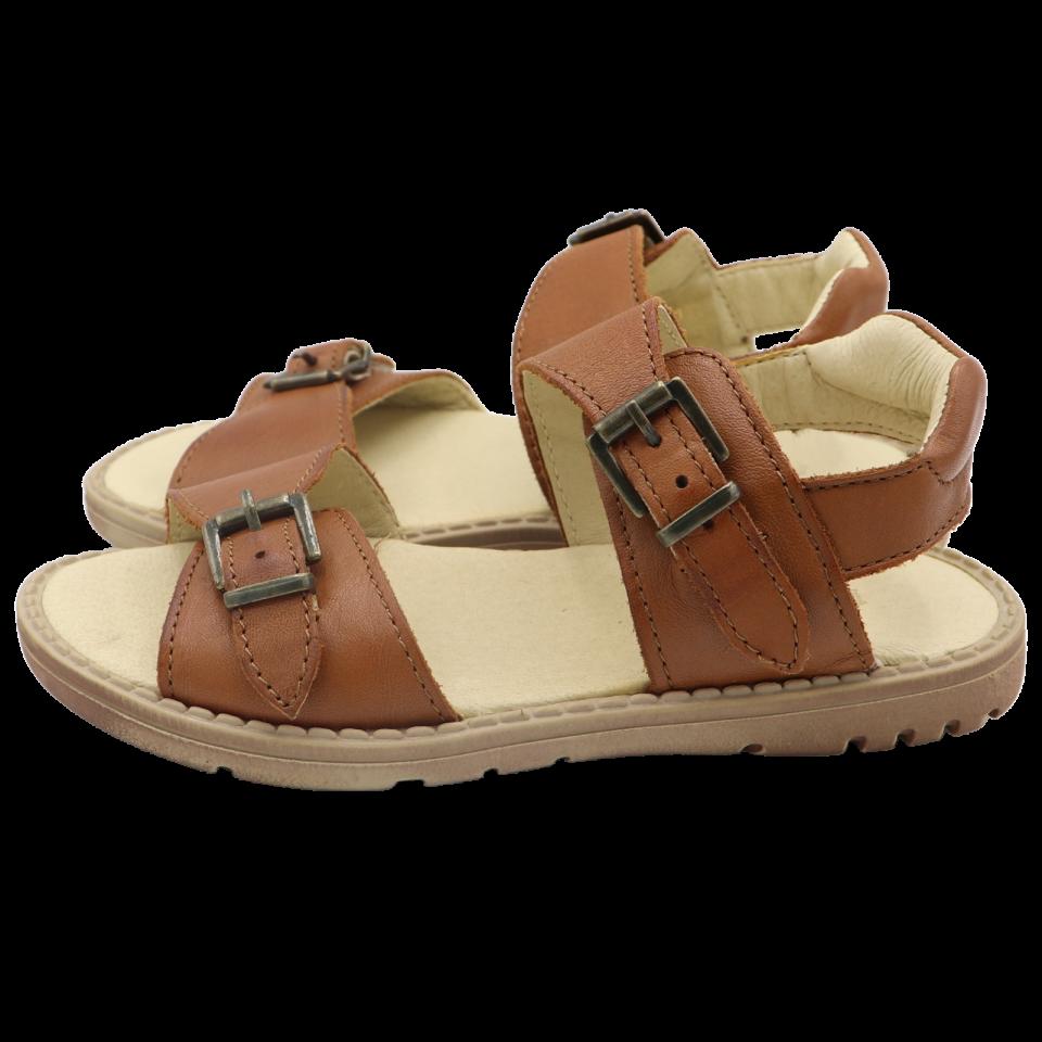 Sandale maro cu catarame