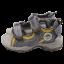 Sandale sport din piele naturală cu arici