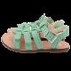 Sandale verzi cu cataramă