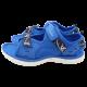 Sandale albastre sport cu ancore imprimate