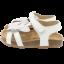 Sandale albe cu fluturași