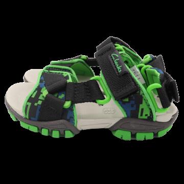 Sandale sport verzi cu arici. Clarks. Mărimea 24