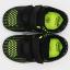 Pantofi sport ușori și flexibili verde și negru