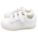 Pantofi sport albi din piele ecologică