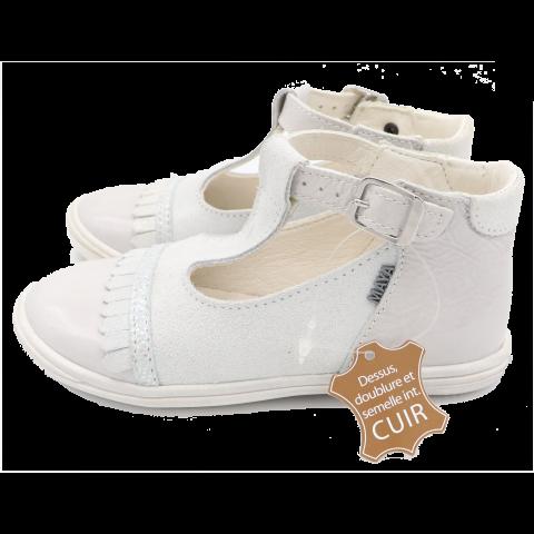 Pantofi crem albinuța Maya