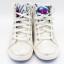 Pantofi înalți gri strălucitor cu ștrasuri și lanț lipite