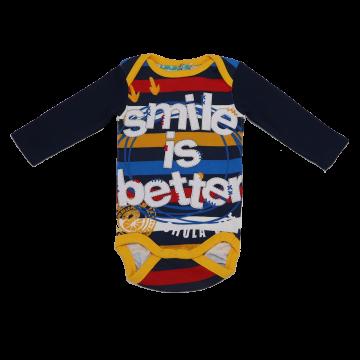 """Body cu imprimeu """"Smile is better"""""""