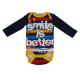 "Body cu imprimeu ""Smile is better"""