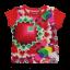 Tricou Opalo cu imprimeu geometric din bumbac organic