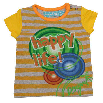"Tricou Rubi ""Happy Life"""
