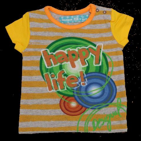 "Tricou Rubi ""Happy Life"""