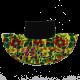 Fustă scurtă cu imprimeu floral