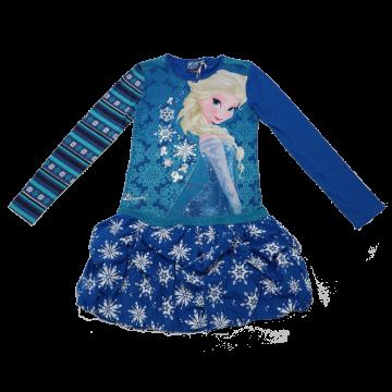 Rochie Snowflake cu Elsa și fustă bufantă