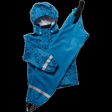 Geacă, pantaloni și sac de ploaie Freds World - albastru