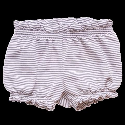 Pantaloni scurți bloomers cu dungi