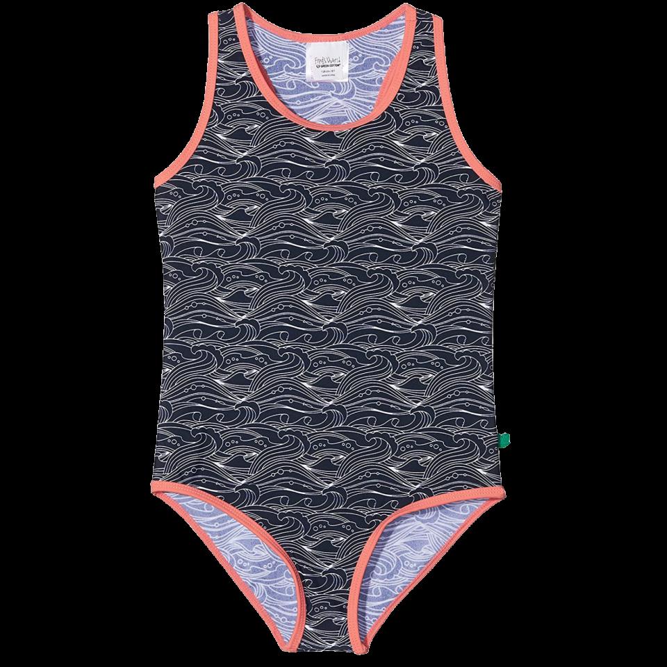 Costum de baie întreg pentru fetițe cu protecție UV, UPF 50+