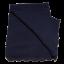Pătură bleumarin tricotată din bumbac organic