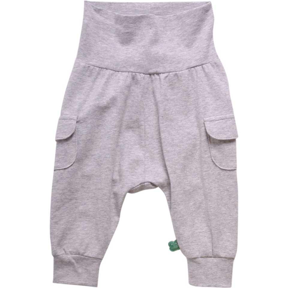 Pantaloni gri Alfa cu buzunare