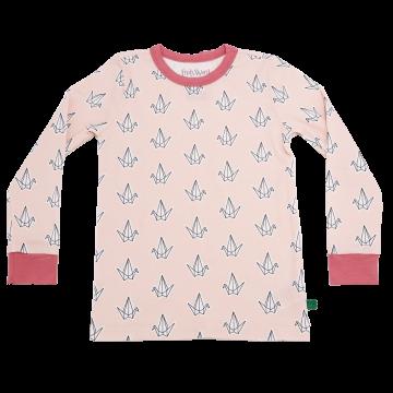 Bluză Bird din bumbac organic