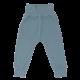 Pantaloni Cozy Me bleu din bumbac organic