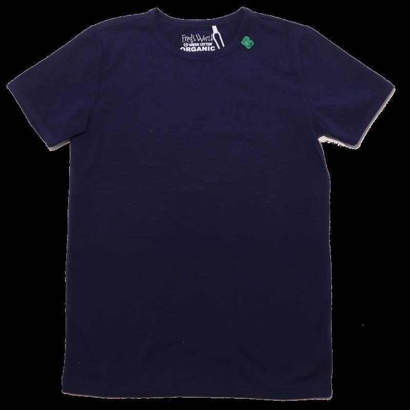 Tricou bleumarin simplu