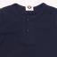 Tricou bleumarin cu nasturi