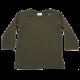 Bluziță verde închis cu mânecă lungă