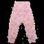 Pantaloni roz și lila cu imprimeu floral Spicy Vintage