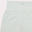 Pantaloni verde prăfuit cu imprimeu puncte